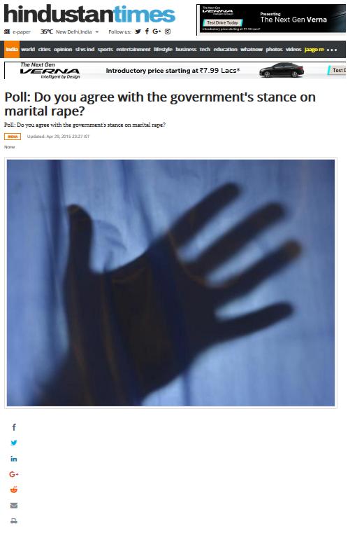 Marital Rape Poll _HT