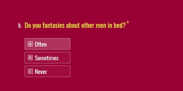 Women fantasize other men