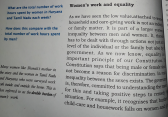 Women's work and equality - CBSE Civics Class7