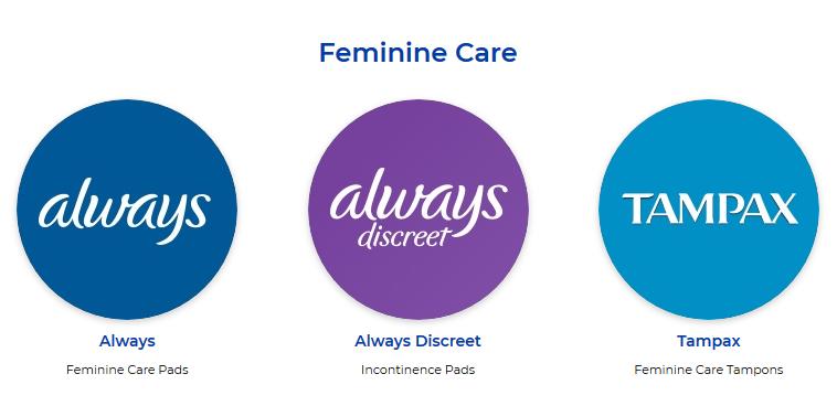 p&g-feminine-care-brands