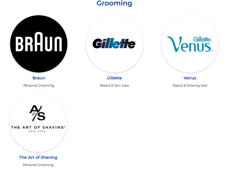 P&g-grooming-products-brands