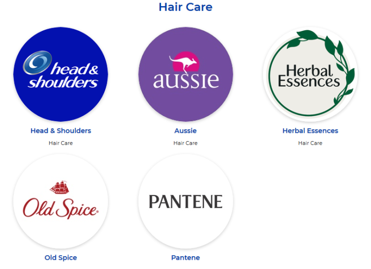 p&g-hair-care-products