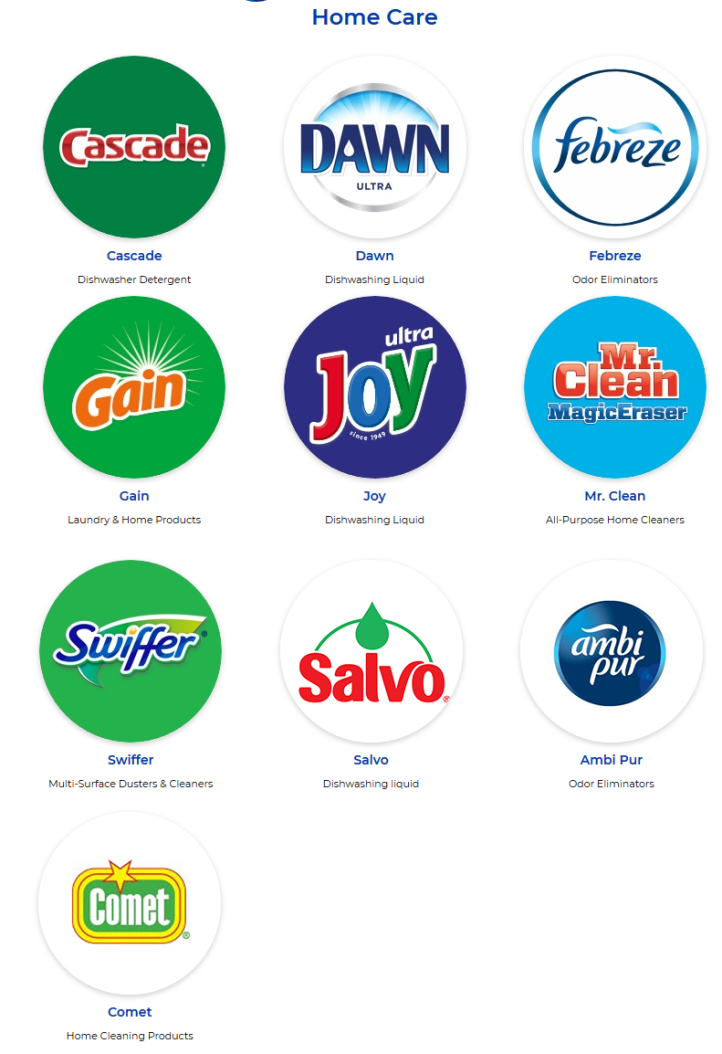 P&G-home-care-products