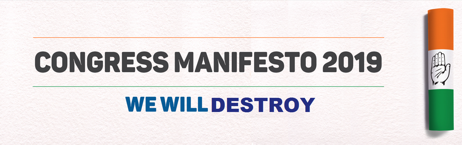 congress-election-manifesto-2019