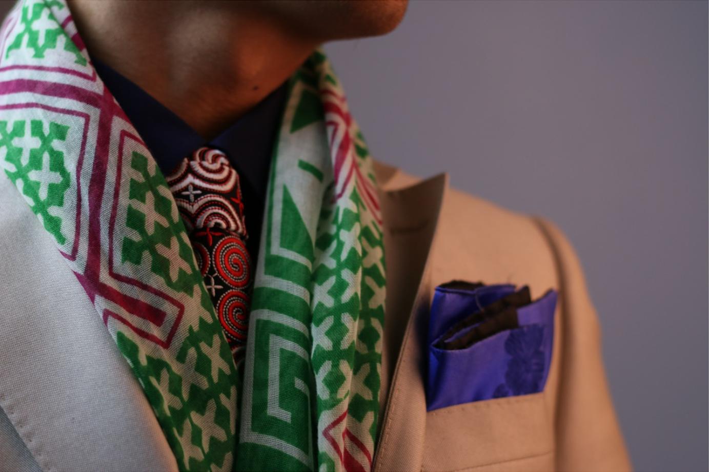 Colorful Suit