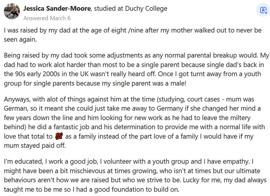 Single-Father-raised-educated-kid