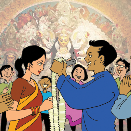 marriage-durga-puja