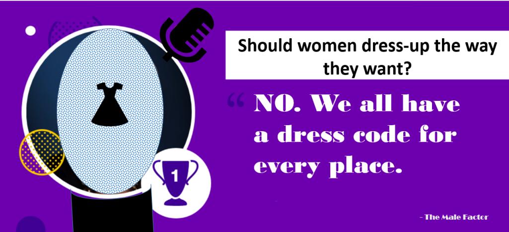 How should women dress?