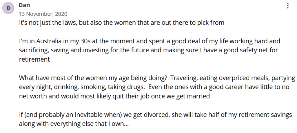 Women have uncontrolled lifestyle