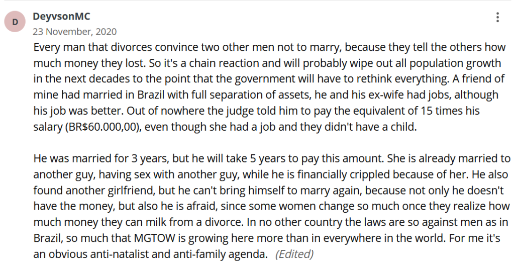 MGTOW is the Way - marriage strike